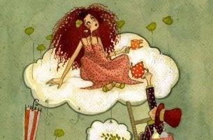 girl-drinking-tea-on-cloud