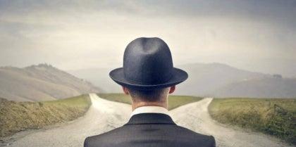 man-facing-two-roads