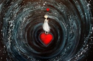 black hole heart