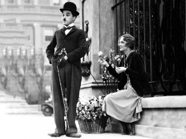 Happiness, According to Charlie Chaplin