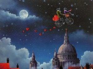flying bike