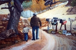 grandfather-grandson-walking