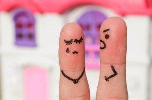 Finger People Arguing