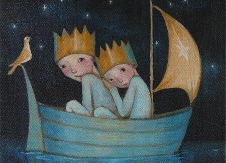Veljekset veneessä
