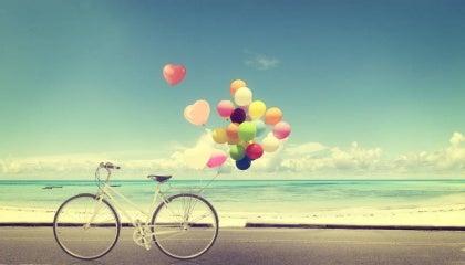 Bicyle balloons