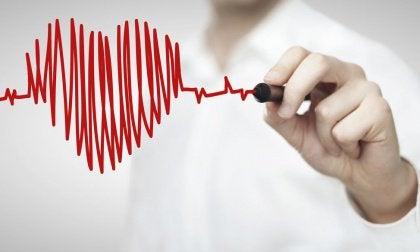 heartbeat heart shape