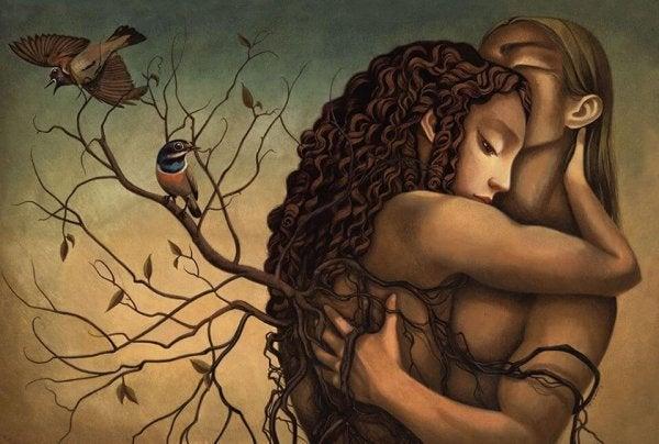 I Love Those Hugs That Make the Sadness Go Away