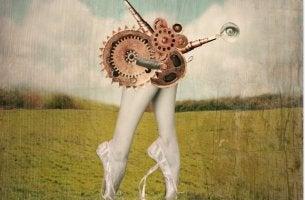 mechanical ballet legs