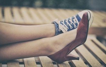 kengät nainen