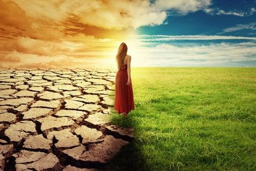 Aavikon ja nurmikon välimaasto