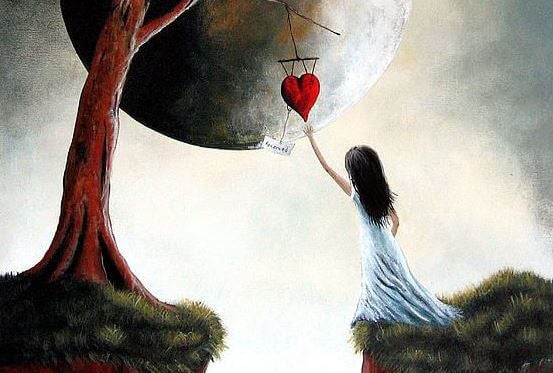 Grabbing Heart from Sky