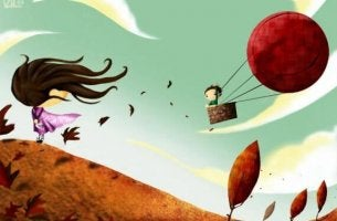boy in hot air balloon