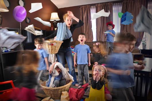 crazy children