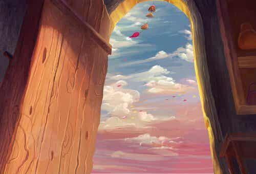 A Half-Opened Door is Half-Opened Happiness