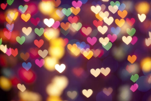 Colorful Heart Lights