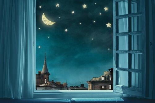 Unettomuus ja tähtitaivas