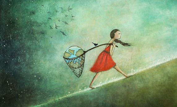 world in a net