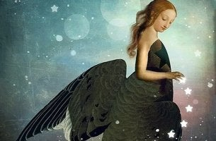 angel like girl remain