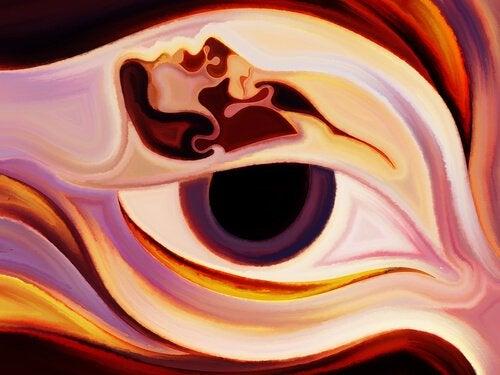 art person eye