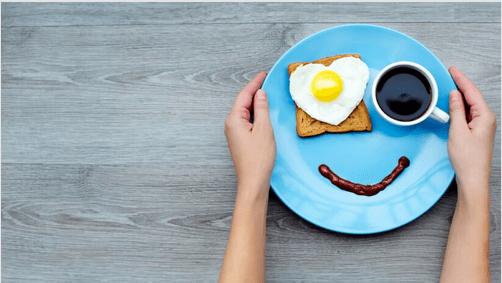 breakfast smile