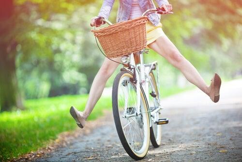 Onnellisuus on pyöräillä