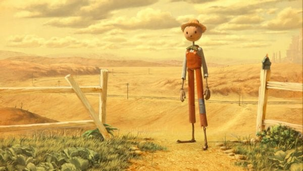 scarecrow in the desert