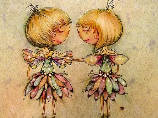 twins as butterflies life