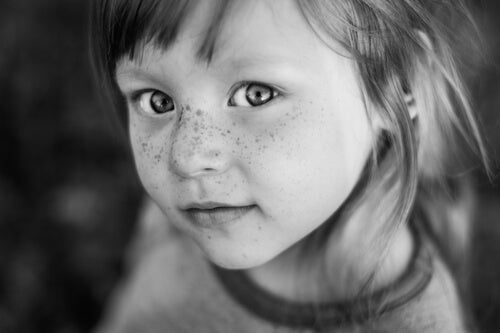 Cute Freckled Girl