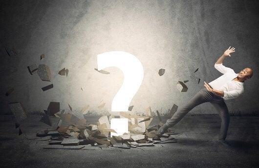 big question mark indecisive