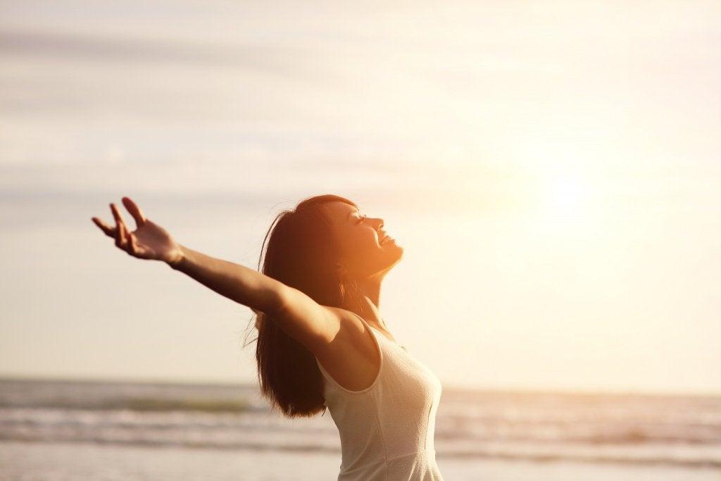 Naisen positiivinen energia