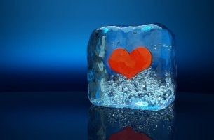 ice cube heart
