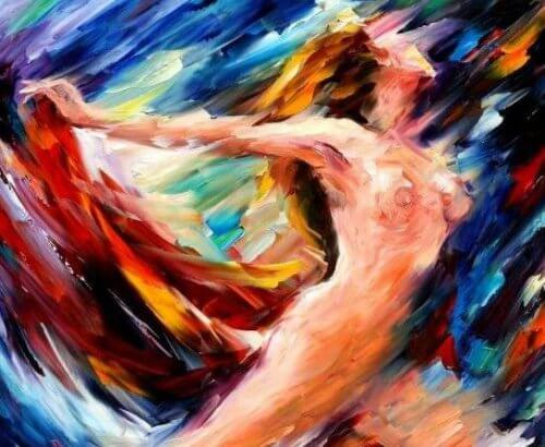 Naked Woman Impressionist