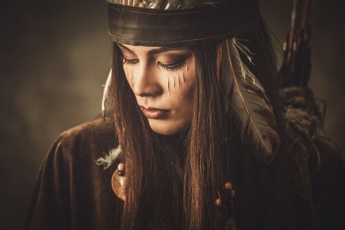 native american woman myth
