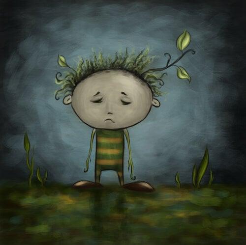 Surullinen kasvipoika
