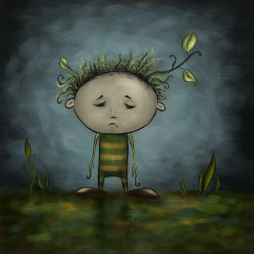 Sad Plant Child