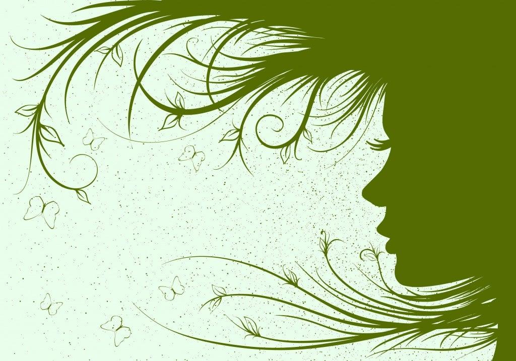 profile of woman fantasy