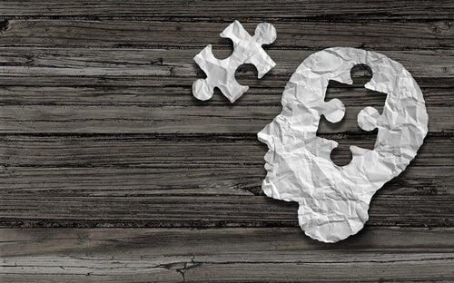 brain puzzle piece psychological