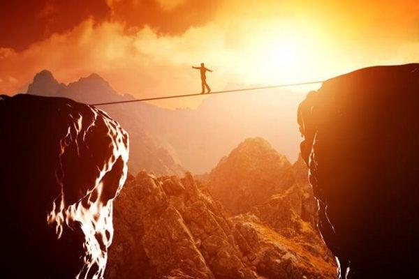 tightrope man