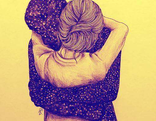 Lämmin halaus on onni