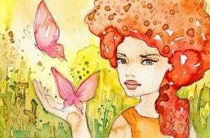 watercolor woman 2