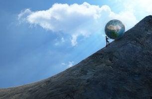 Pushing World Up Mountain