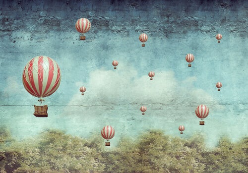 hot air balloons imagination