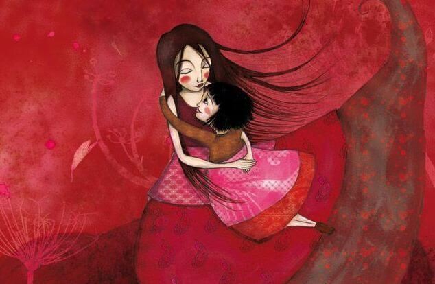 children need your hugs to feel like part of you world