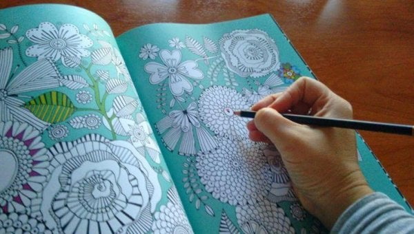 Coloring Away Stress: A New Way To Relax