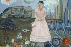 Frida Kahlo self-portrait inspirational