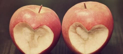 Apples with Heart Bites