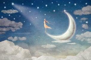 Woman on Moon