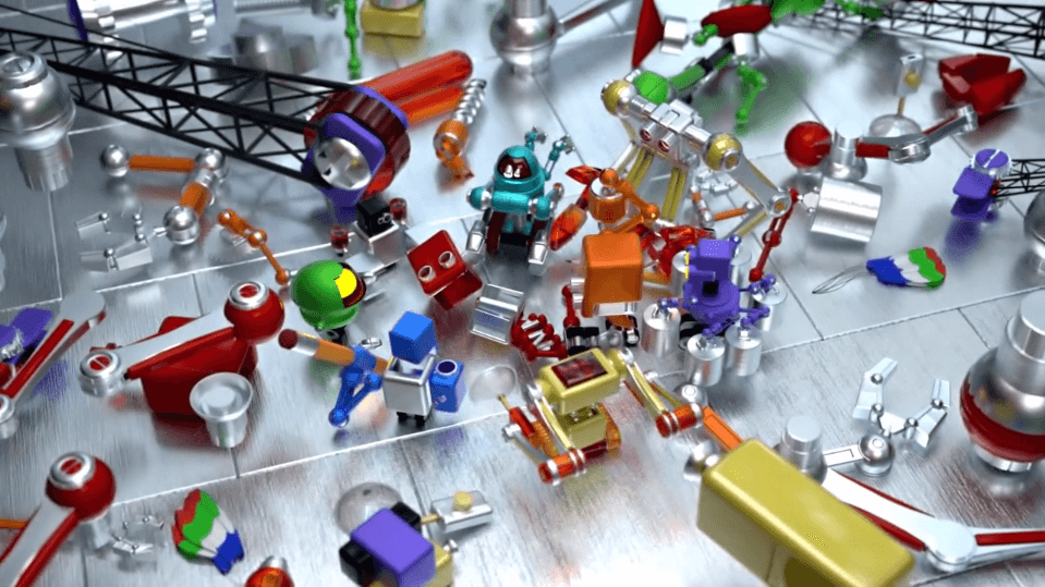 robots fixing robot lesson