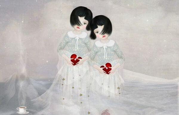 niñas-con-corazones