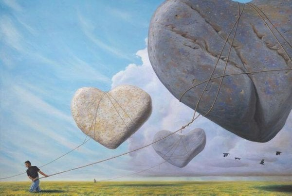 stone heart kites